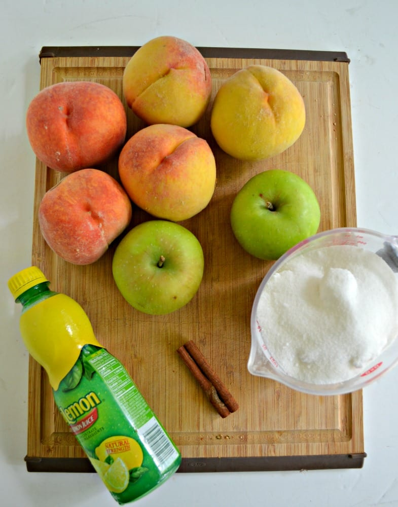It's peach season and you are going to want to make this awesome Peach Pie Filling
