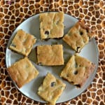 Salted Caramel Chocolate Chip Cookie Bars #CreativeCookieExchange