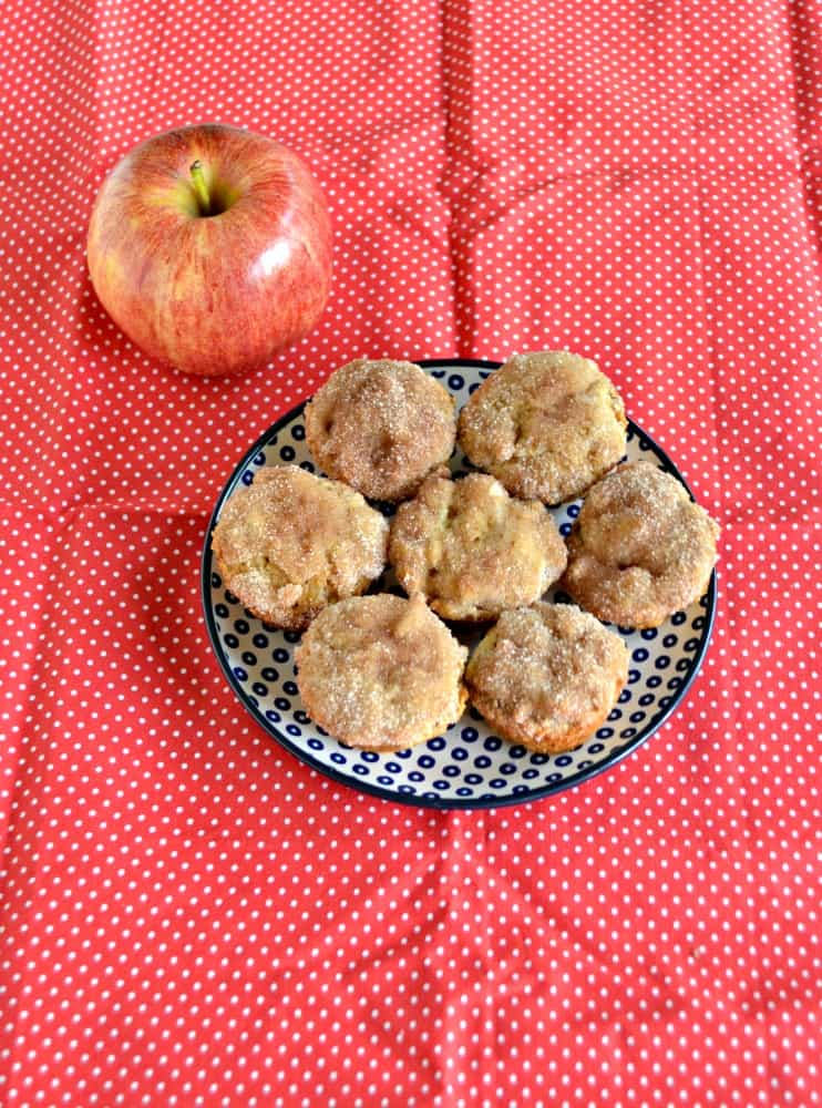 If you like apples you'll love these Apple Donut Muffins