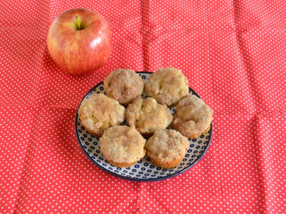 Apple Donut Muffins are an easy and delicious breakfast or snack.