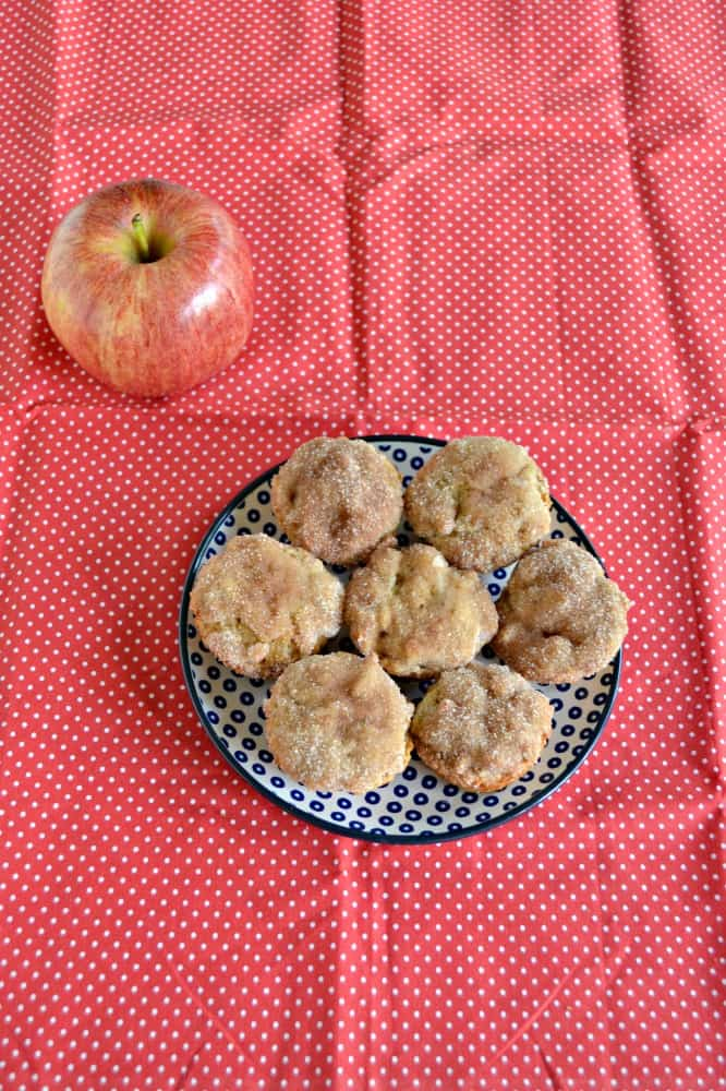 Grab an Apple Donut Muffin for breakfast or a snack!