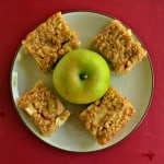 Apple Oatmeal Breakfast Bars #AppleWeek