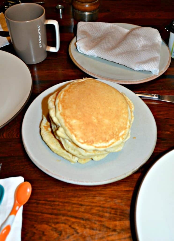 Whip up a batch of these fluffy pancakes!