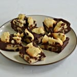 Chocolate Chip Cookie Dough Candy Bars