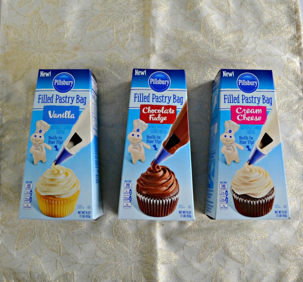 Pillsbury Filled Pastry Bags make baking and decorating a snap!