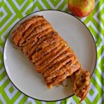 Caramel Apple Pull Apart Bread #AppleWeek