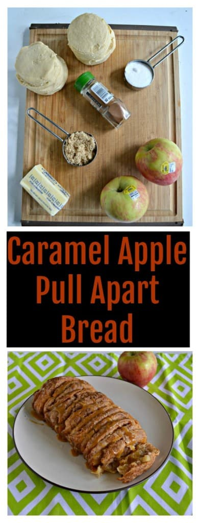 Everything you need to make these easy and awesome Caramel Apple Pulle Apart Bread perfect for fall!