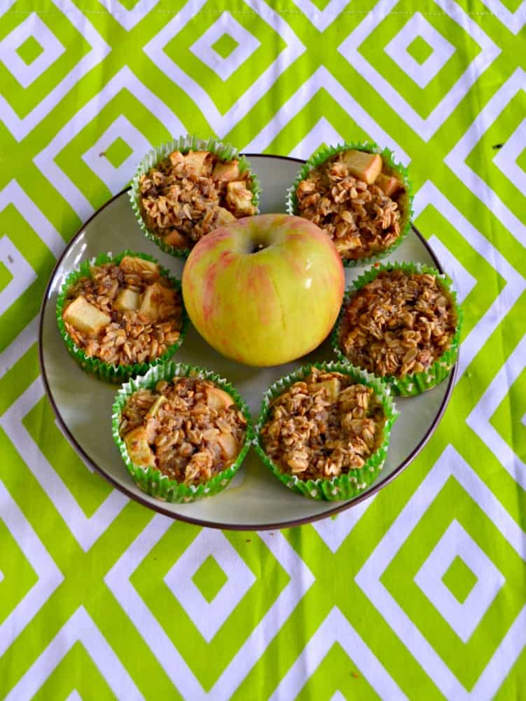 Looking for an easy breakfast? Check out my Apple Oatmeal Cups.