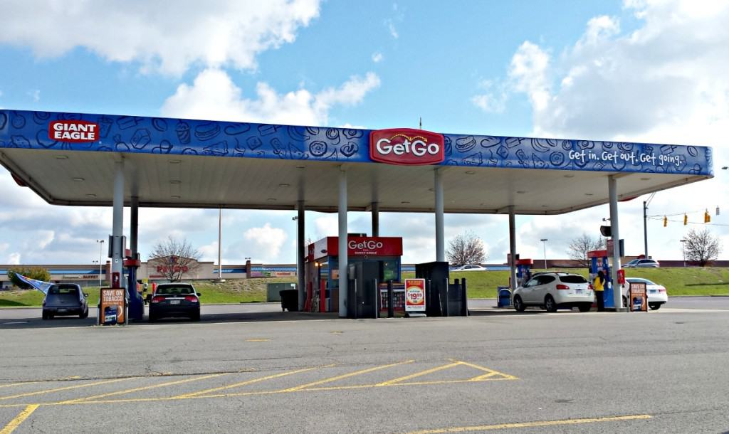 Fuel up at GetGo and earn points towards free gas or discounted groceries!
