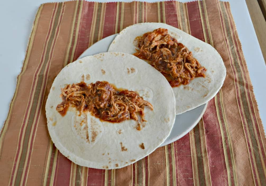 We love these flavorful 5 ingredient Slow Cooker Chicken Tacos