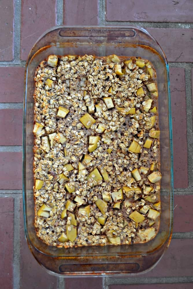 Apple Cinnamon Baked Oatmeal is a delicious breakfast