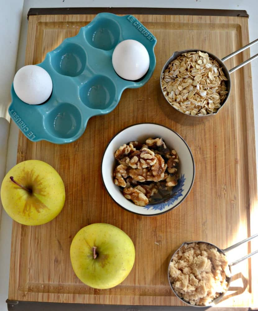 Everything you need to make Apple Cinnamon Baked Oatmeal