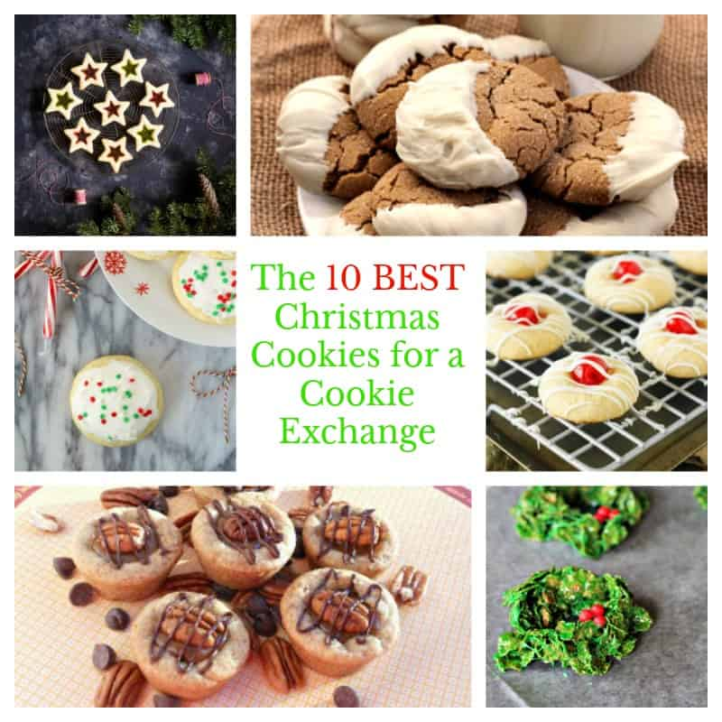 Are you in a holiday cookie exchange? Check out the 10 BEST Christmas Cookies for a Cookie Exchange!