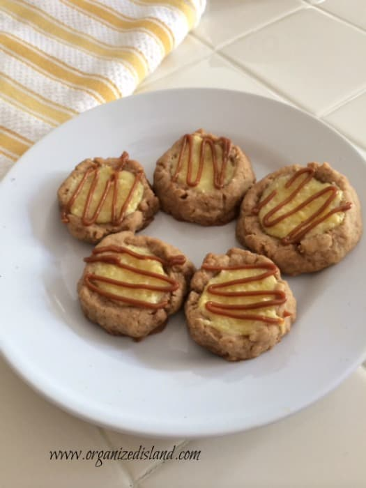 Dulch De Leche Cheesecake Cookies