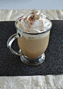 Slow Cooker Gingerbread Latte