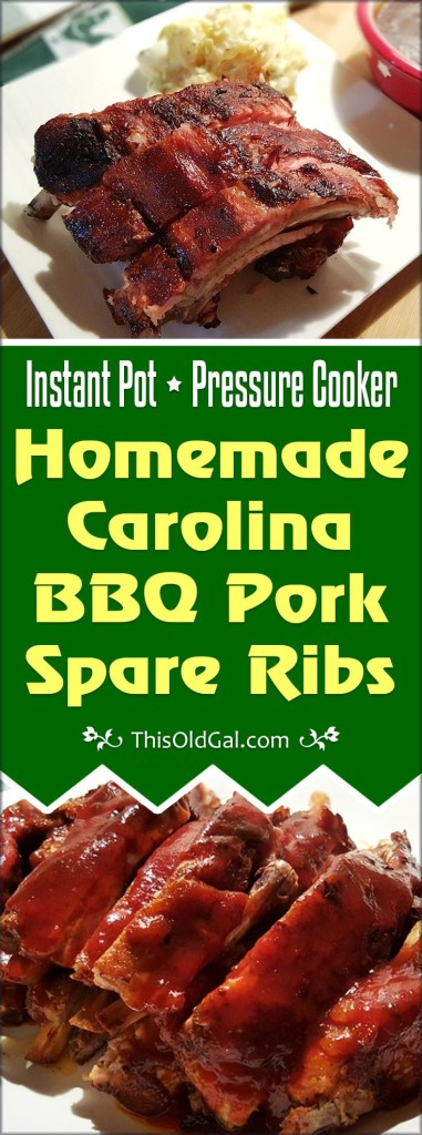 Carolina BBQ Pork Spare Ribs