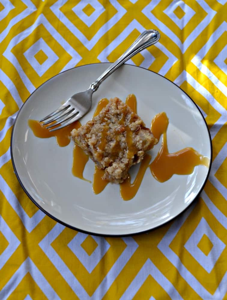 You'll love the sweet and spiced flavor of these Pear Pie Bars!