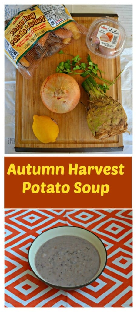 Autumn Harvest Potato Soup is full of fall produce