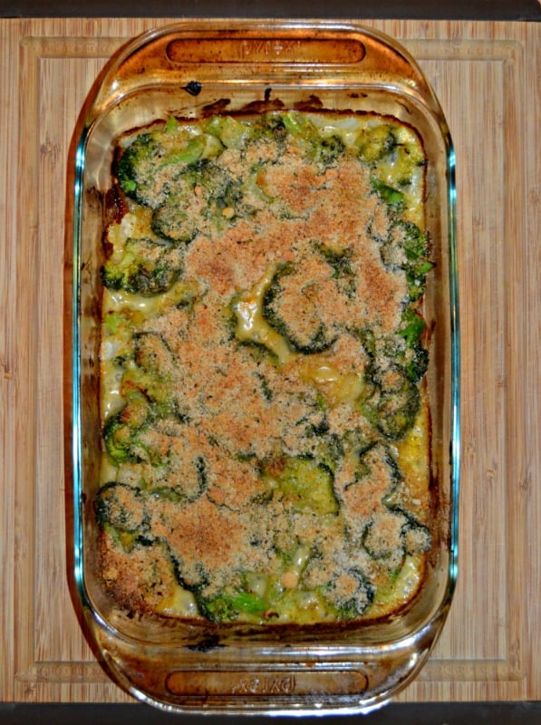 Bake up a pan of Cheesy Broccoli Gratin