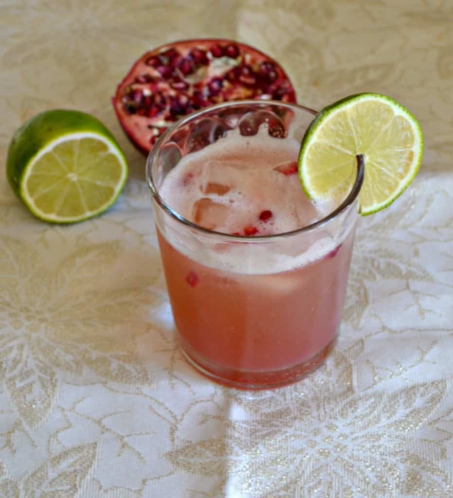 Try a delicious Pomegranate Moscow Mule
