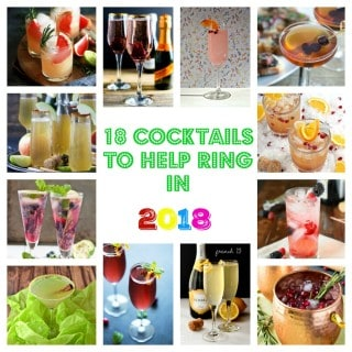 18 Cocktails to Help Ring in 2018!