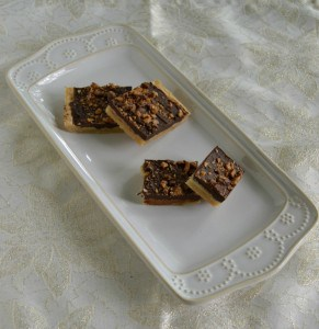 Toffee Cookie Bars #SundaySupper