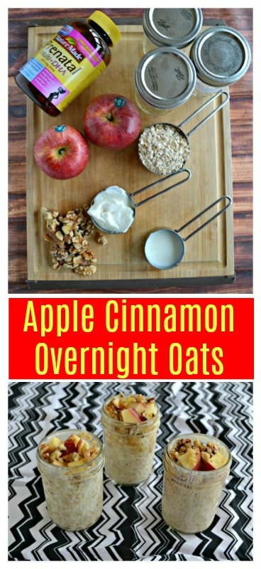 Everything you need to make Apple Cinnamon Overnight Oats