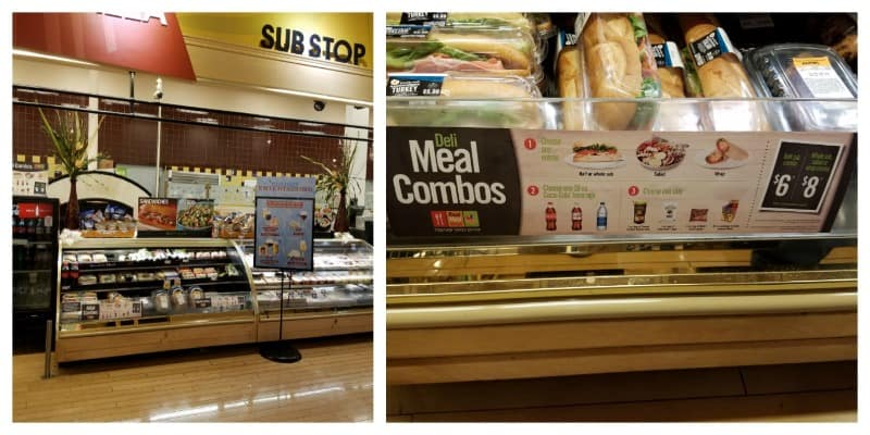 Check out the Deli Combo Meals at Martin's Food Markets!