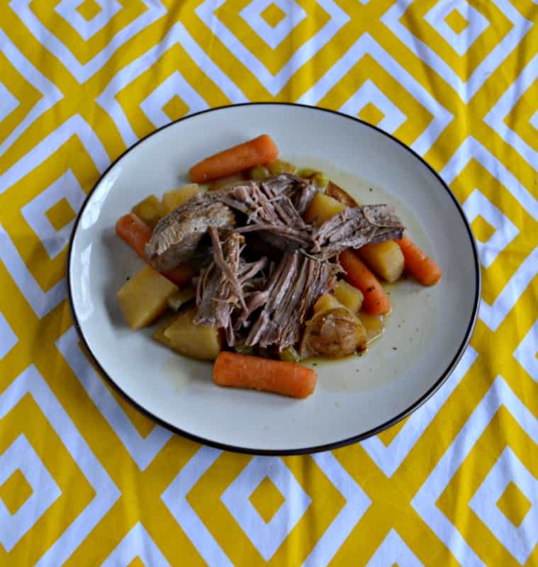 Make dinner easy with this Mississippi Roast made in the slow cooker.