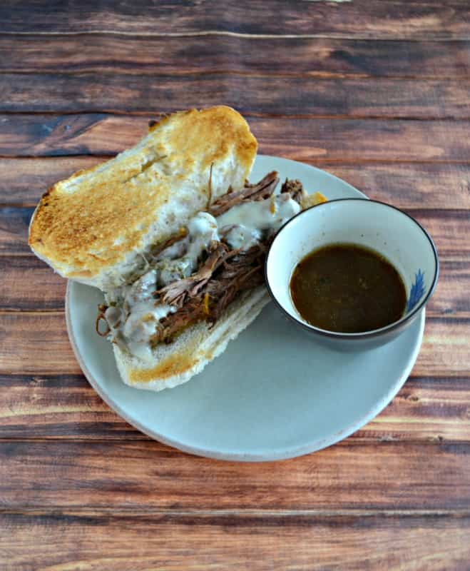 We love making these tasty Slow Cooker Italian Pot Roast Sandwiches in the winter!