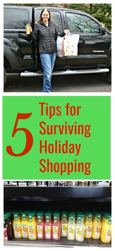 5 Tips for Surviving Holiday Shopping