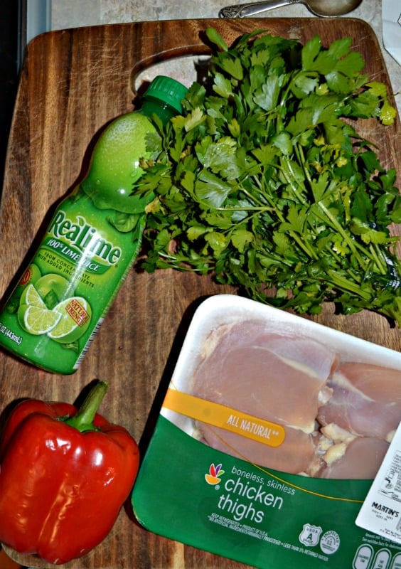 Everything you need to make Instant Pot Chicken Thighs