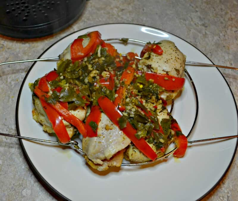 You'll love these easy Instant Pot Chicken Thighs with Peppers