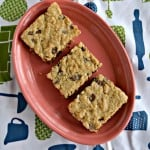 Looking for a great cookie? Try these soft and chewy Oatmeal Chocolate Chip Cookie Bars!