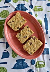 Oatmeal Chocolate Chip Cookie Bars
