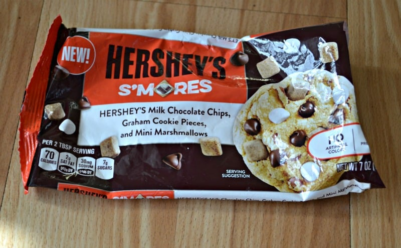 Hershey's S'mores pieces make awesome cookies!