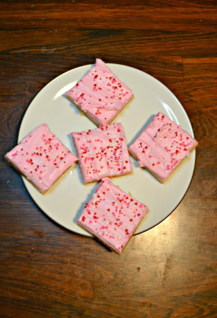 Grab these soft and chewy Sugar Cookie Bars