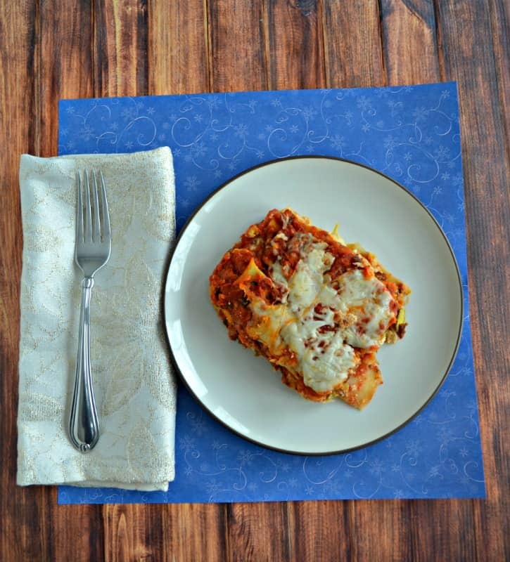 Looking for a lasagna stuffed with beef and vegetables that the kids will love? Try my Beef and Winter Vegetable Lasagna layered with Certified Angus Beef brand ground beef, butternut squash, leeks, and Brussels Sprouts!