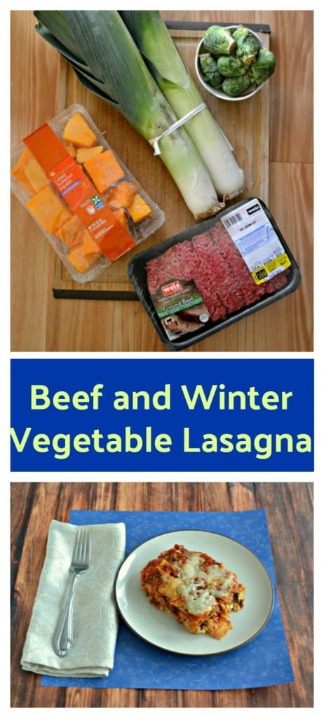 Make a delicious Beef and Winter Vegetable Lasagna for a tasty comfort food dinner.