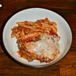 Baked Ziti with Meat Sauce #ItalianFood