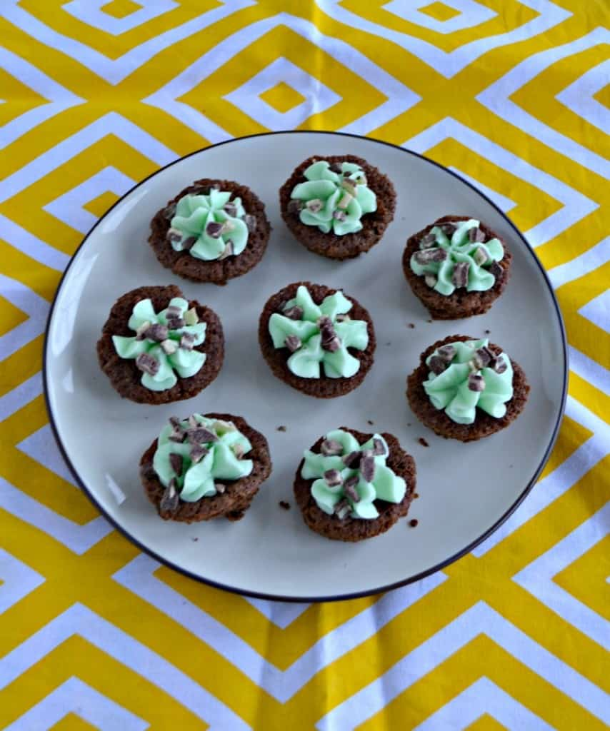 These St. Patrick's Day Brownies with Buttercream Frosting are delicious