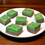 Double Chocolate Fudge for St. Patrick's Day