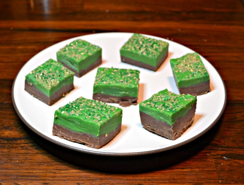 St. Patrick's Day Double Fudge