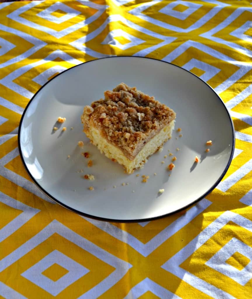 Grab a slice of this delicious Coffee Cake for breakfast!