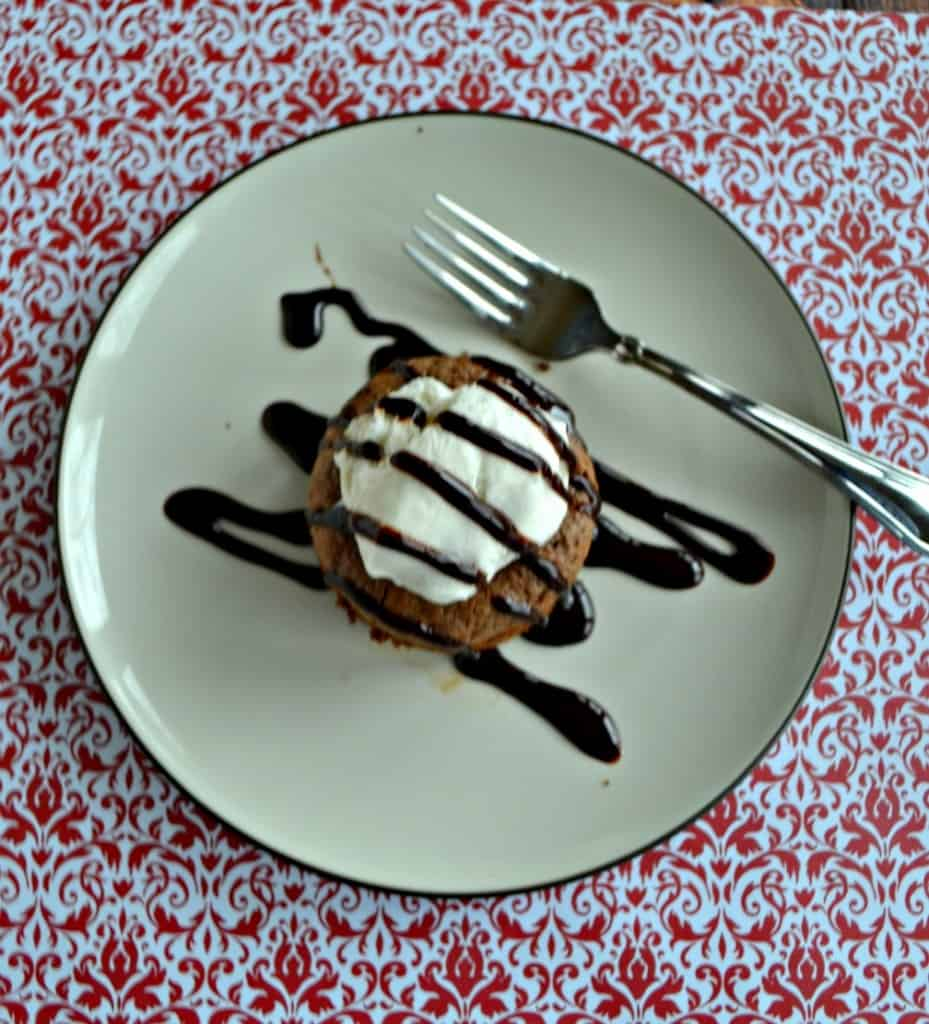 Looking for the perfect dessert for 2? Make these Molten Chocolate Lava Cakes for 2!