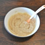 Baby Food Fridays:  Apple Cinnamon Oatmeal