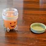 Baby Food Fridays:  Apple, Peach, and Carrot Puree
