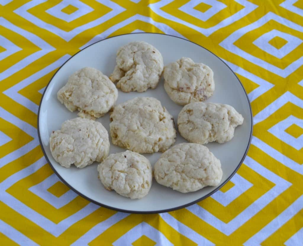 Cinnamon Cream Cheese Cookies are soft and delicious!