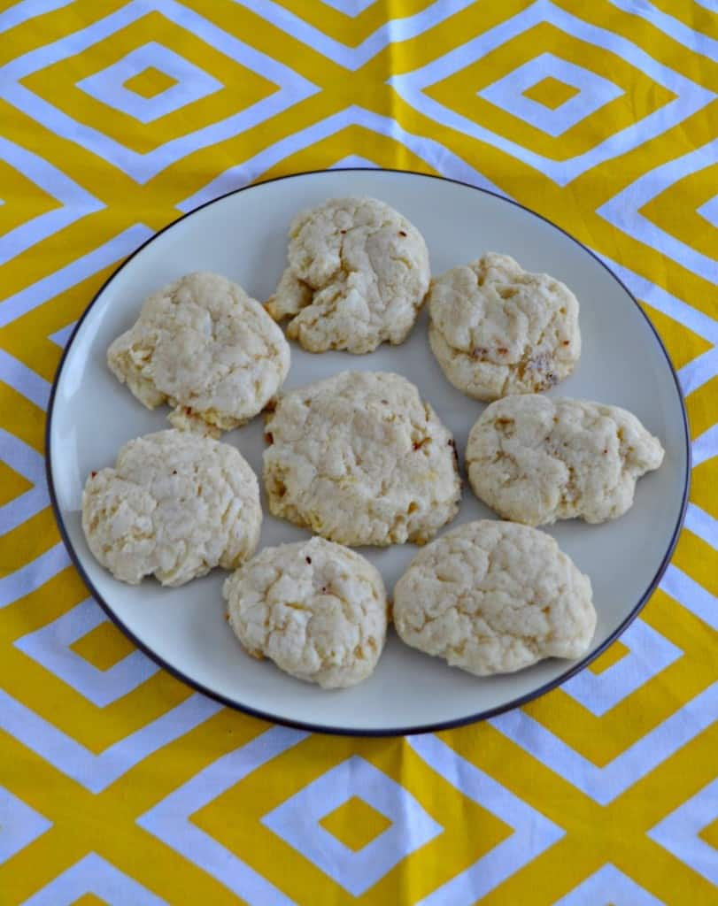 Take a bite out of these amazing Cinnamon Cream Cheese Cookies!