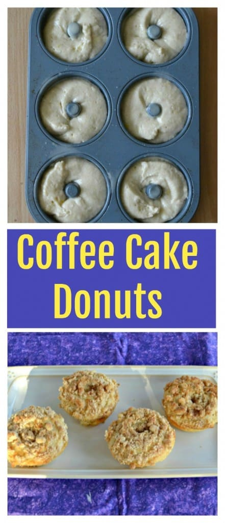 It's easy to make a delicious Baked Coffee Cake Donut!